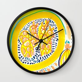 Fun In The Sun Wall Clock