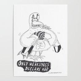 Only Weaklings Declare War Poster