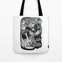 One of those flying dreams Tote Bag