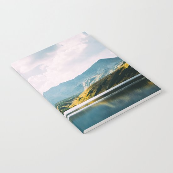 Autumn Mountain Lake Notebook
