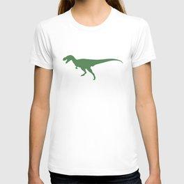 T- Rex Dinosaur Emerald Green  T-shirt