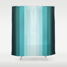 Teal Fantasy Shower Curtain