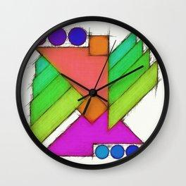 Mechanical wings 2 Wall Clock