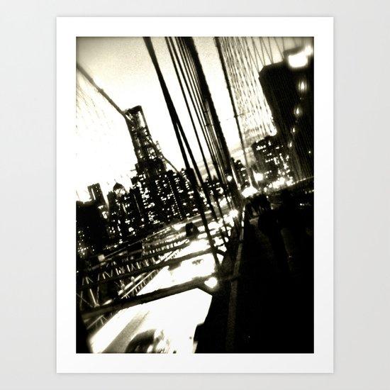 WHITEOUT : Jumper Art Print