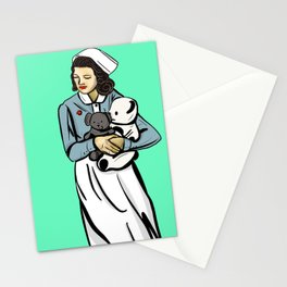 The Nurse is In Stationery Cards