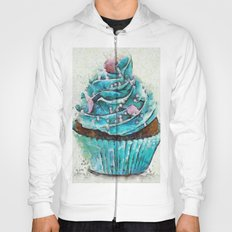 Blue Cupcake Hoody