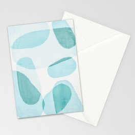 Overlapping Ovals Stationery Cards
