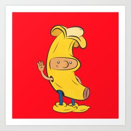 Banana Arnold Art Print