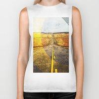 road Biker Tanks featuring Road by emegi