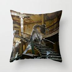 Daydream in Stairway West Throw Pillow