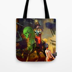 Alexander and Diogenes Tote Bag