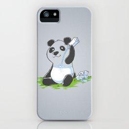 Panda in my FILLings iPhone Case
