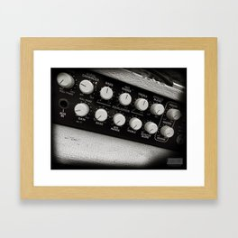 Running Into Treble... Framed Art Print