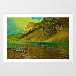 Golden Voyage Art Print