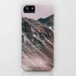 Mountains are calling iPhone Case