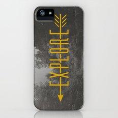 Explore (Arrow) iPhone (5, 5s) Slim Case