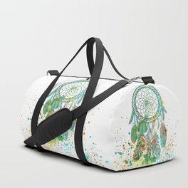 Dreamcatcher splatter Duffle Bag