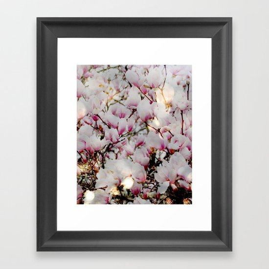 Bright and Blooming Framed Art Print