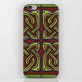 Celtic Knotwork Corners iPhone Skin