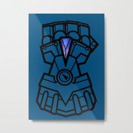 Vi Fist Metal Print
