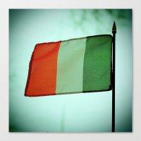 irish Canvas Prints featuring Irish tricolor by Vorona Photography