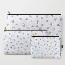 snowflakes (5) Carry-All Pouch