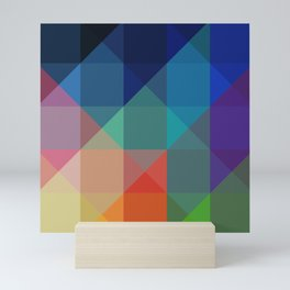 Crystal Jewel Spectrum Mini Art Print