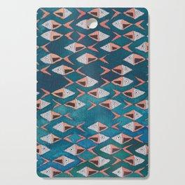 School of Fish Pattern Cutting Board