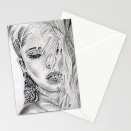 Feather Girl Aloud Stationery Cards