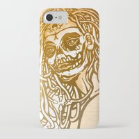 medusa iPhone & iPod Cases featuring MEDUSA by BABA-G | arts and crafts