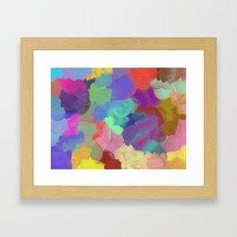 SPLAT ! Framed Art Print