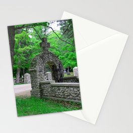 St Ann's Cemetery II Stationery Cards