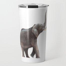 Elephant Drawing Travel Mug
