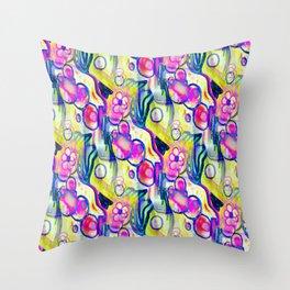 Rokin Marker Abstract 2 Throw Pillow