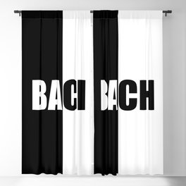 BACH, Inspiration Shirt, Bach Shirt, Johann Sebastian Bach, Music Shirt, Musician Gifts, Mozart, Moz Blackout Curtain