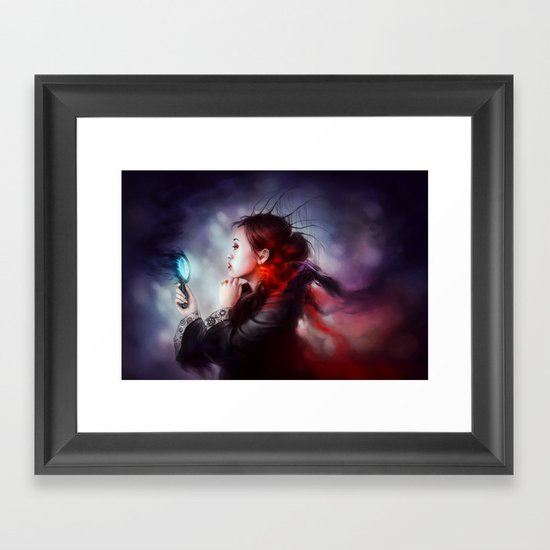 """Vanity"" Framed Art Print"