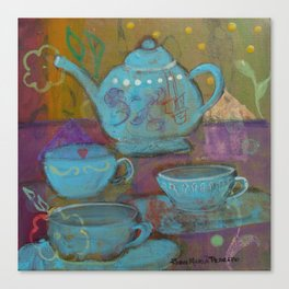 Spot of Tea Canvas Print