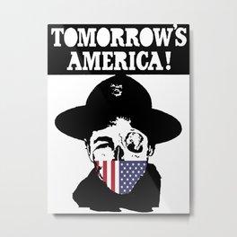 Tomorrow's America Metal Print