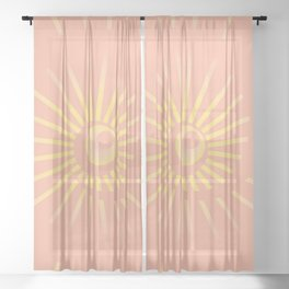 Sunshine / Sunbeam 4 Sheer Curtain