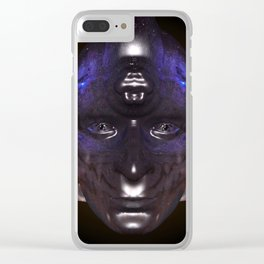 Looking into a Taino's eye's Clear iPhone Case