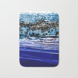 ...blurred line of horizons Bath Mat