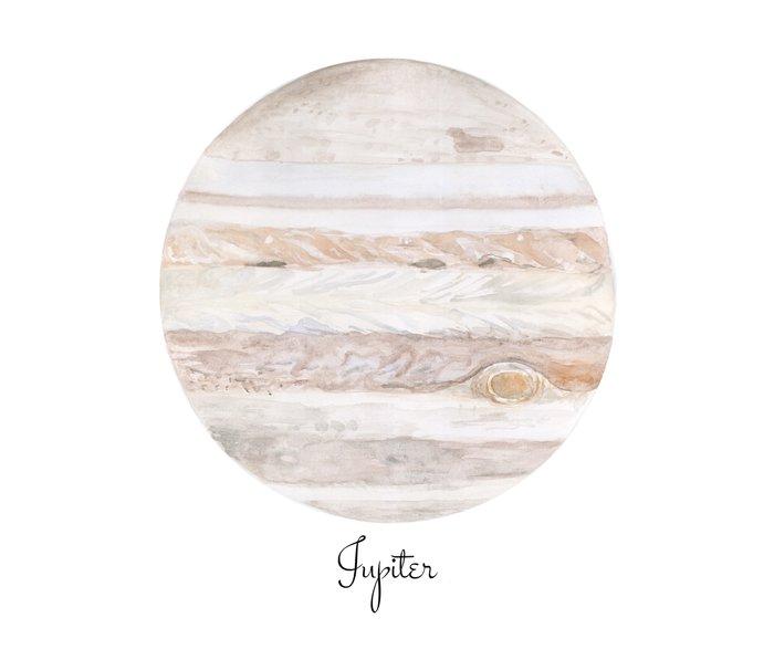 Jupiter planet Metal Travel Mug