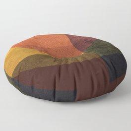 Geometric Composition 7 Floor Pillow
