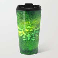 Legend Of Zelda Triforce Metal Travel Mug