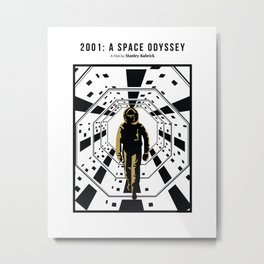 A space odyssey Metal Print