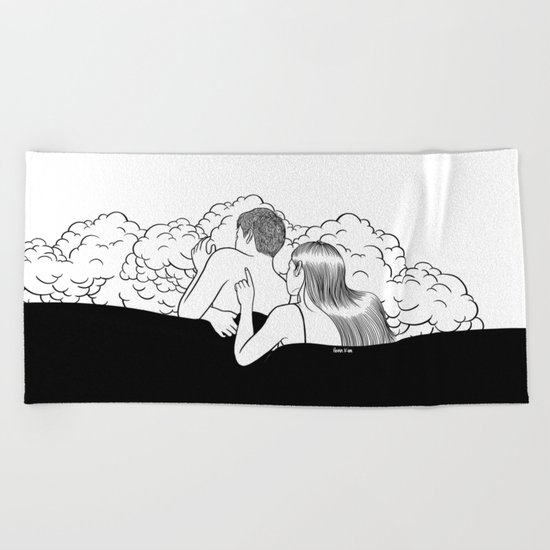 Human Diary Beach Towel