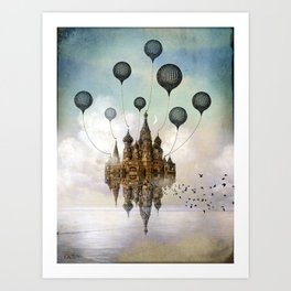Journey to the East Art Print