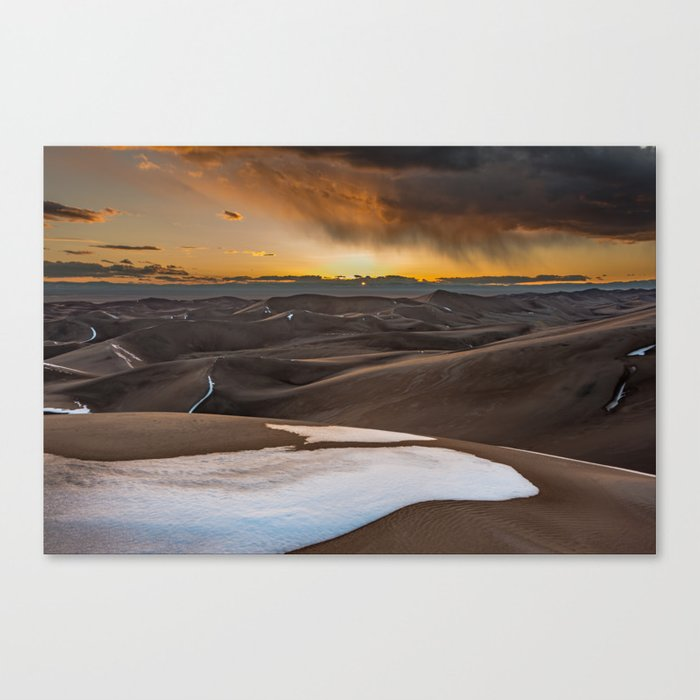 Great Sand Dunes National Park and Preserve Colorado Canvas Print