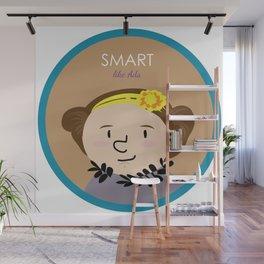 Smart like Ada Lovelace Wall Mural