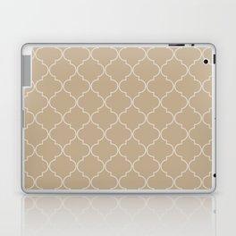 Warm Sand Quatrefoil Laptop & iPad Skin
